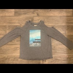 Hollister California cut out top